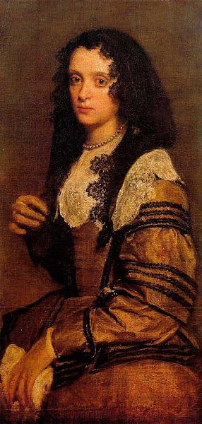 Диего Веласкес - Портрет молодой женщины (1635)