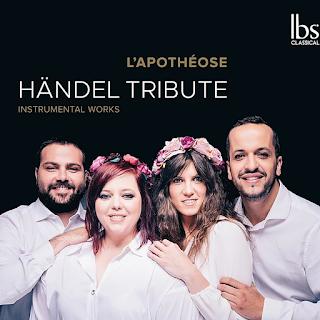 Handel trio sonatas, violin sonatas; L'Apothéose; LBS Classical