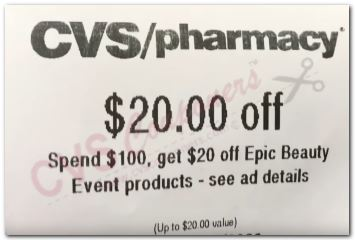 Print at CVS at the Coupon Centre