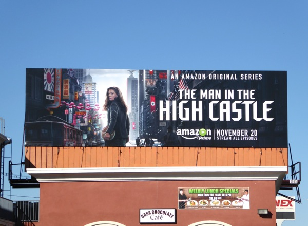 Man in the High Castle series launch billboard