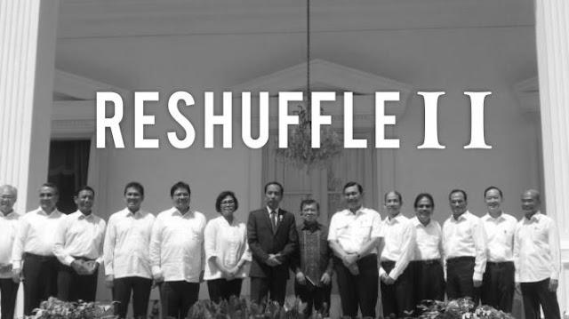 Daftar Kabinet Reshuffle jilid II
