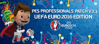 PES 2016 PESProfessionals Patch V3.1 (UEFA EURO 2016 EDITION) - Released #04/04/2016