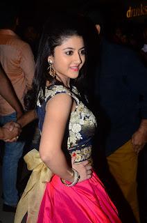 Shriya Sharma At Nirmala Convent Movie Preview Show %284%29.JPG