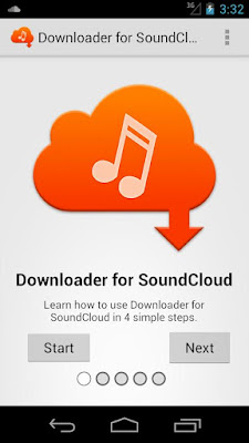 SoundCloud Music Player