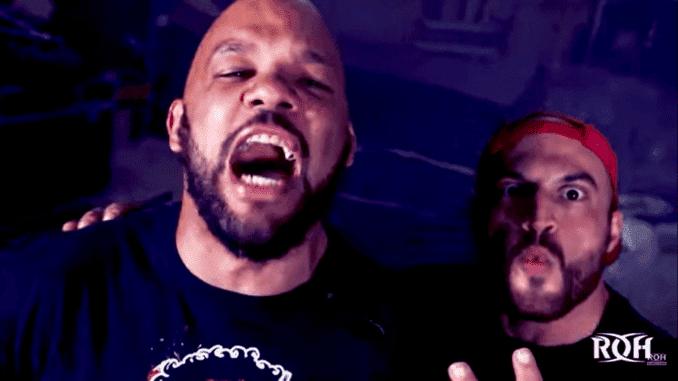 Chris Dickinson e Homicide conquistam o ROH World Tag Team Championship