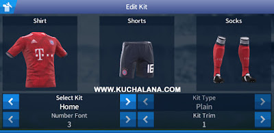 12245edb91f FC Bayern Munich 2018 19 Kit - Dream League Soccer Kits - Kuchalana
