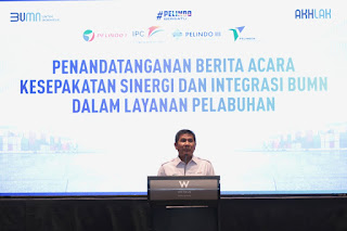 Serikat Pekerja Pelindo I - IV Dukung Integrasi Pelindo