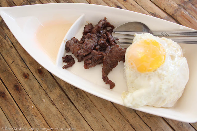 Beef Tapa in Cagbalete Island