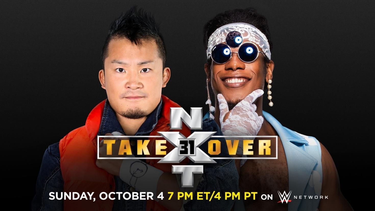 Novo combate adicionado para o NXT TakeOver 31