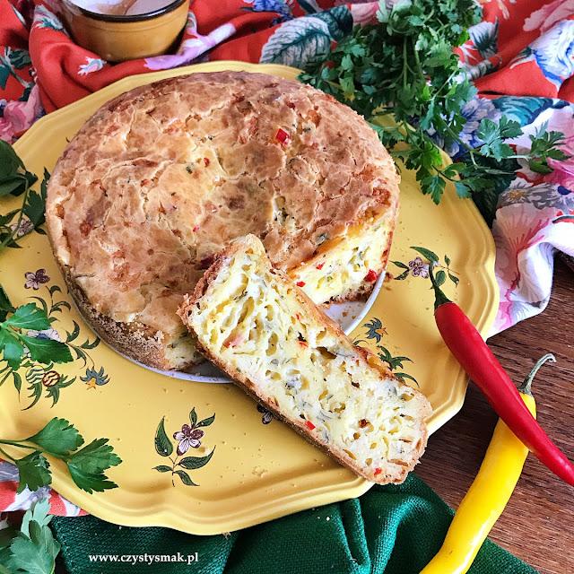Chlebek serowy z chili