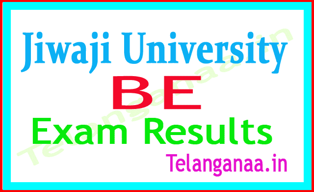 Jiwaji University BE 4th Sem 2018 Exam Results