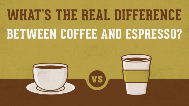 What's the Real Difference Between Coffee and Espresso?