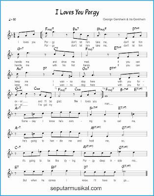 i loves you, porgy lagu jazz standar