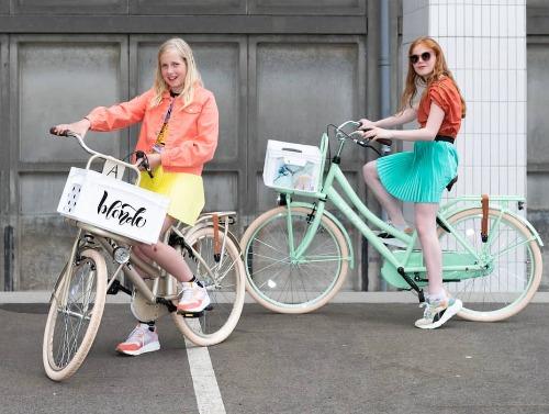 Eigen fietskrat ontwerp