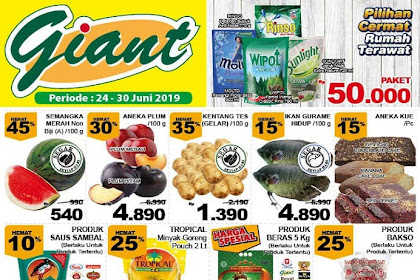 Katalog Promo JSM Giant Weekend Terbaru 28 - 30 Juni 2019