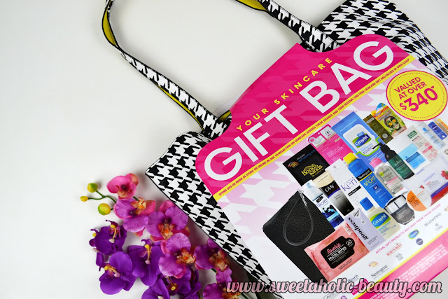 Priceline Skincare Bag 2016 - Sweetaholic Beauty