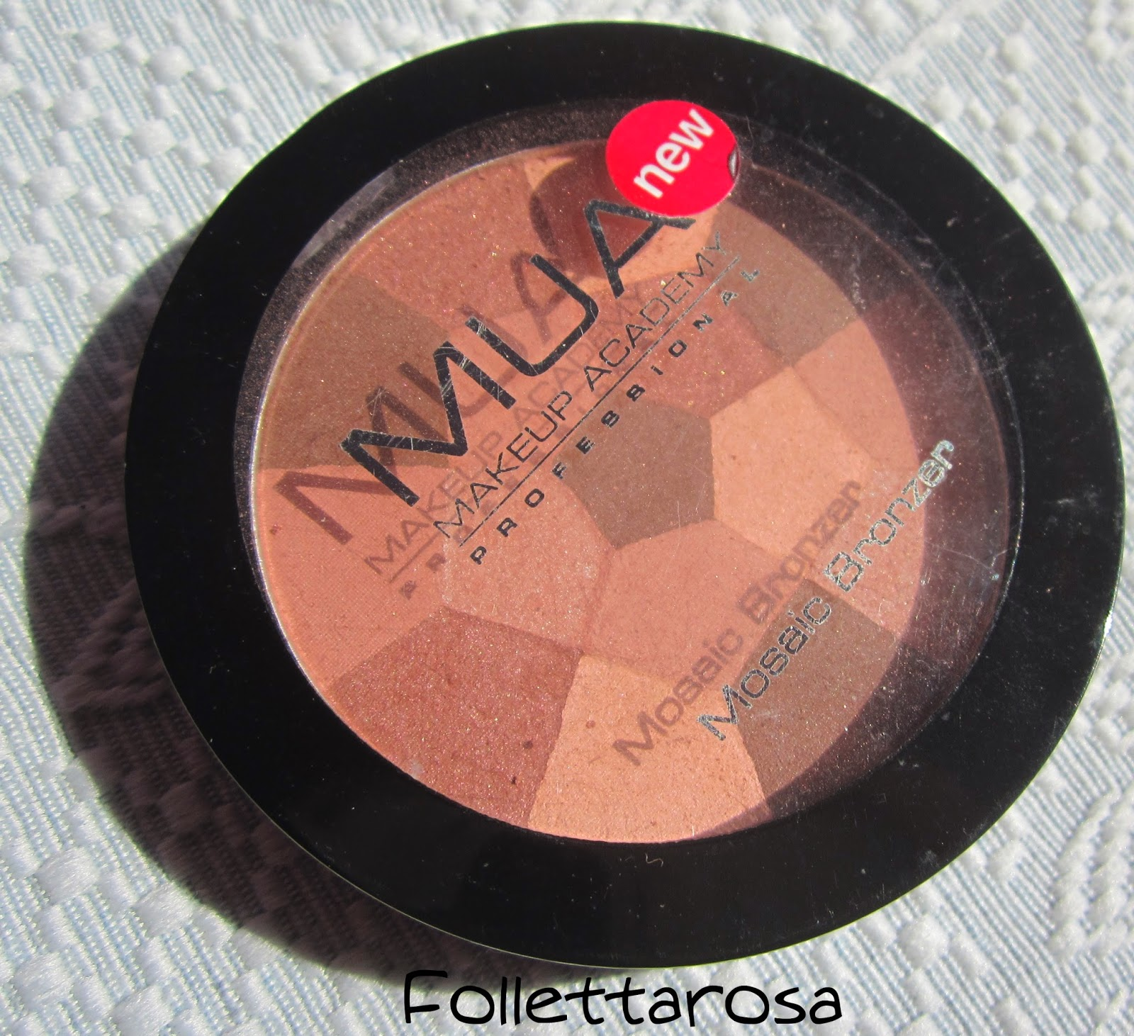 mosaic bronzer mua review