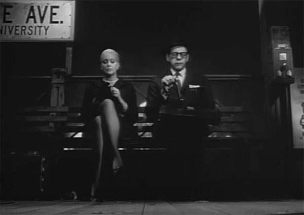 Jan Sterling in the 1967 film The Incident