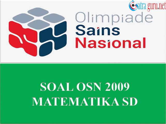 Soal OSN Matematika SD Tahun 2009