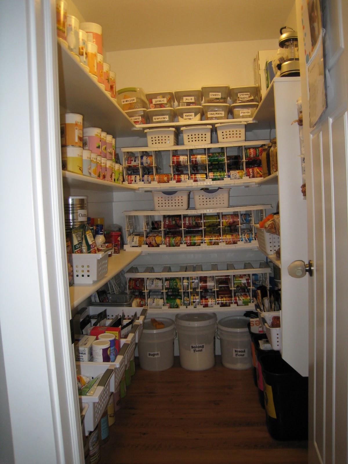 Where do i put my food storage es organized food storage