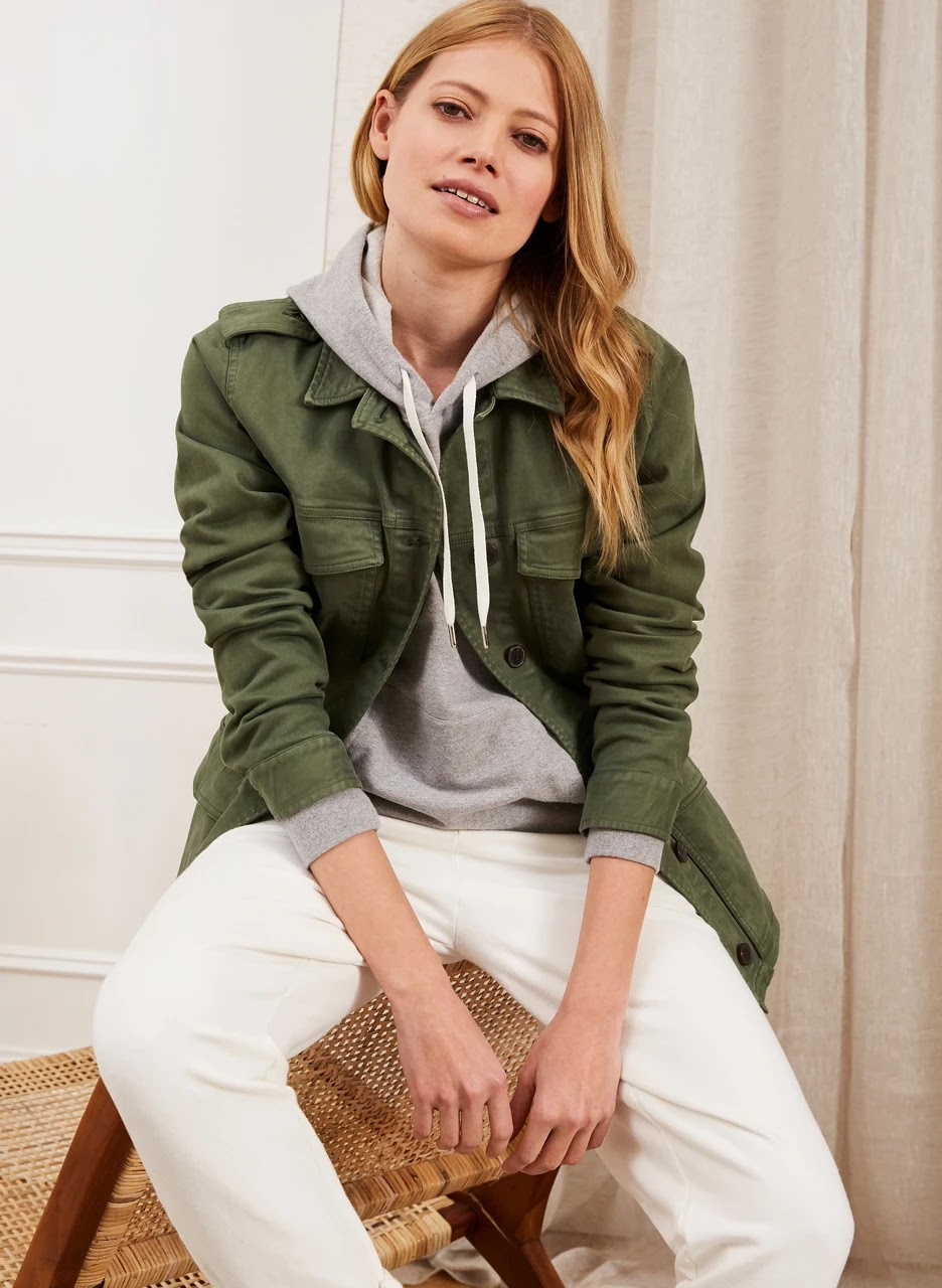 Baukjen drake organic utility jacket