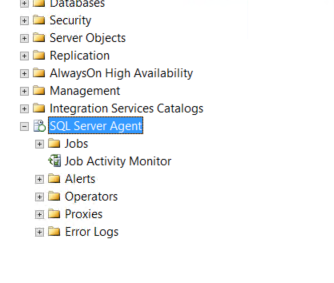 How to start SQL Server Agent when Agent XPs show disabled