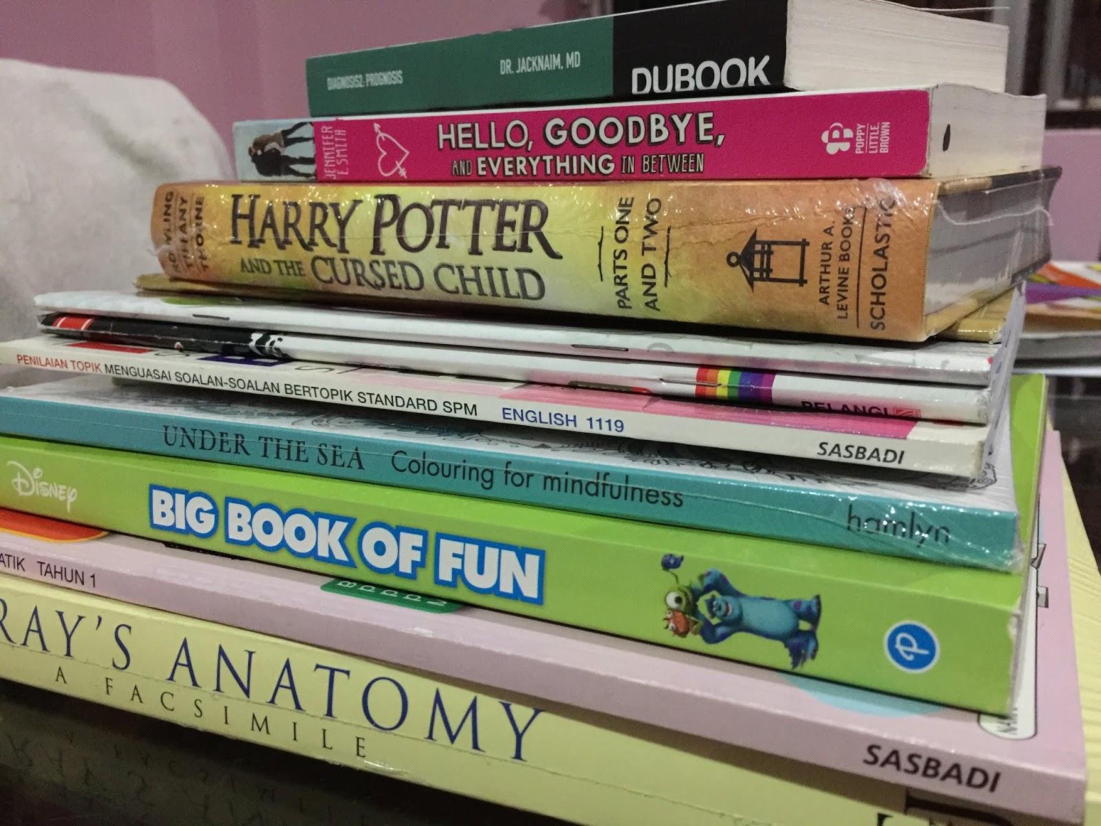 big bad wolf, pesta buku, hobi membaca, koleksi buku terkini