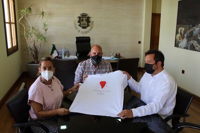 'Fuerteventura, terremoto solidario, Camisetas solidarias para ayudar a La Palma