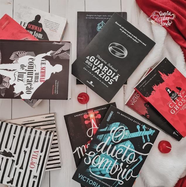 Conhecendo os livros da Victoria Schwab