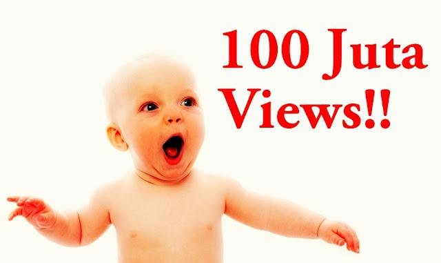 Hanya Tiga Tahun Views Mencecah 100 Juta!