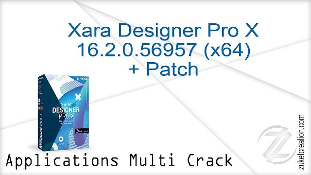 Xara Designer Pro X 16.2.0.56957 (x64) + Patch   |  174 MB