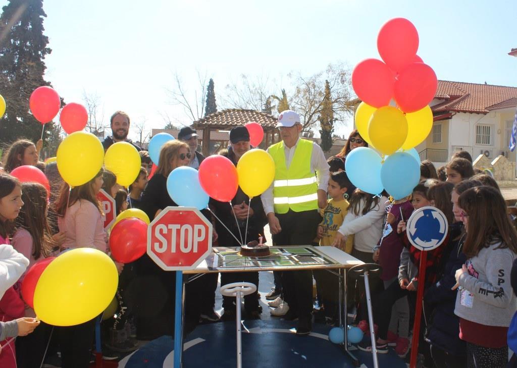 Ένας χρόνος λειτουργίας του Πάρκου  Κυκλοφοριακής Αγωγής του Δημοτικού Σχολείου Ολύνθου