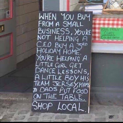 shop local photo