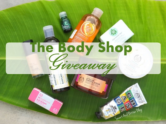 The Body Shop Jackpot Giveaway