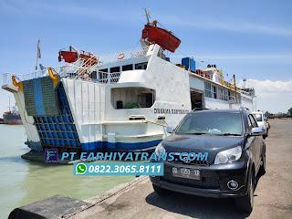 Ekspedisi FARHIYAtrans kirim mobil Toyota Rush dari Makassar tujuan ke Madiun dengan kapal roro dan driving, perkiraan perjalanan 2 hari.