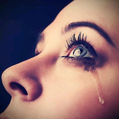 Christian crying