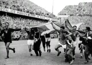 Brasil paseando la bandera sueca