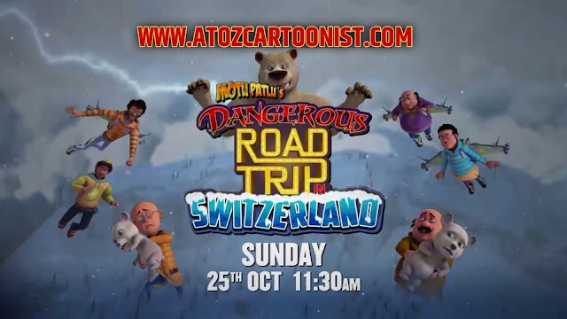 MOTU PATLU'S DANGEROUS ROAD TRIP IN SWITZERLAND FULL MOVIE IN HINDI DOWNLOAD (720P HD)