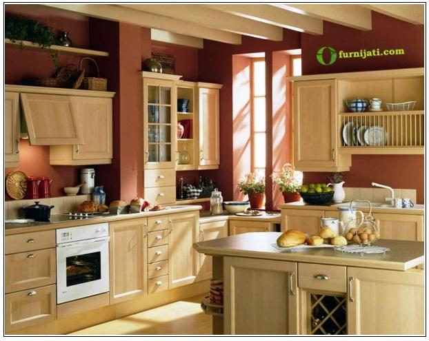 Model dapur  dari kayu jati