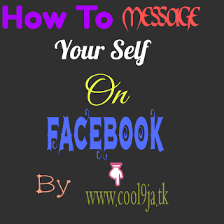 Facebook Trick: How To Message Your Self on facebook