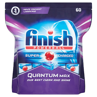 make clean and shine clothes, detergent Finish Dishwasher Tablets Quantum Max, 60 Tablets weekend offer £10.00