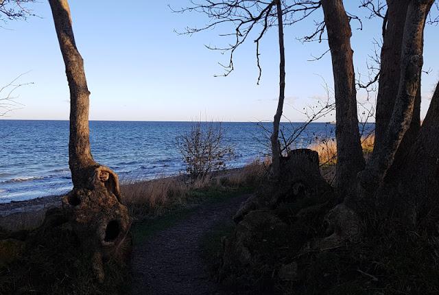 Küsten-Spaziergänge rund um Kiel, Teil 5: Jellenbek - Strand - Krusendorf - Jellenbek. Blick aufs Meer und ein toller Spaziergang!