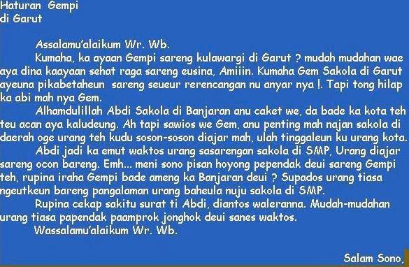 Contoh Autobiografi Bahasa Sunda Desa Toh