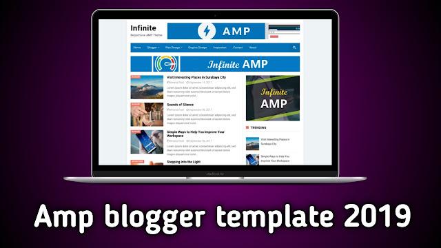 Best Google Amp Blogger Template 2019 [ Seo Friendly ] - Blogger mafia