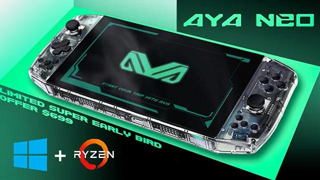 Aya Neo est e premier ordinateur de poche au monde pour les Gamers.