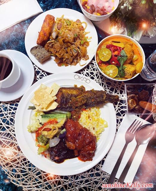 Citarasa Kampung Pemikat Selera, OKAD Event Space, Bukit Jelutong, Selera Ramadan, Nasi Serai, Daging Masak Lemak Cili Padi, Bufet Ramadan, Food