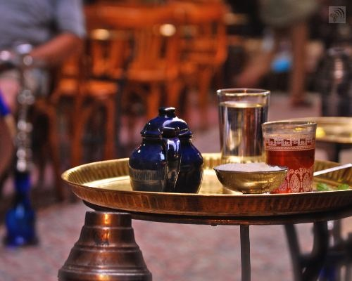 Tea is the national drink of Egypt.