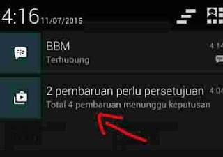 3 Cara Menghilangkan Notifikasi Pembaruan Aplikasi Ponsel Android