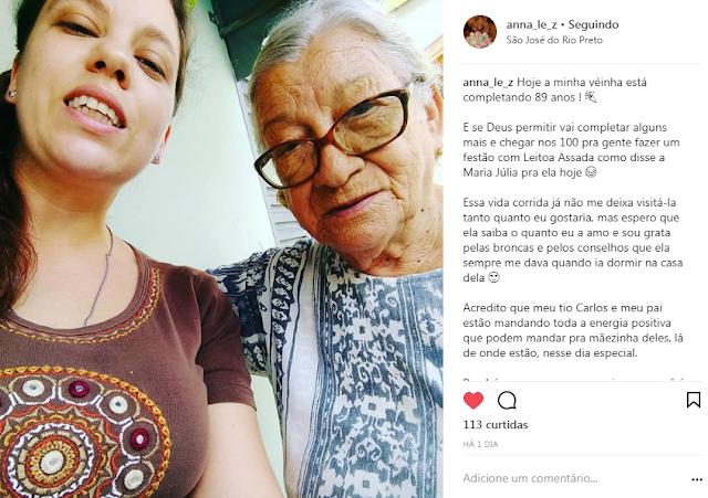 vó vovó abuela grandmother amor aniversário