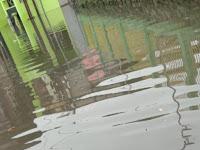 Banjir Melanda Tamban Sumawe Jelang 'New Normal', Pemkab Kirim Bantuan